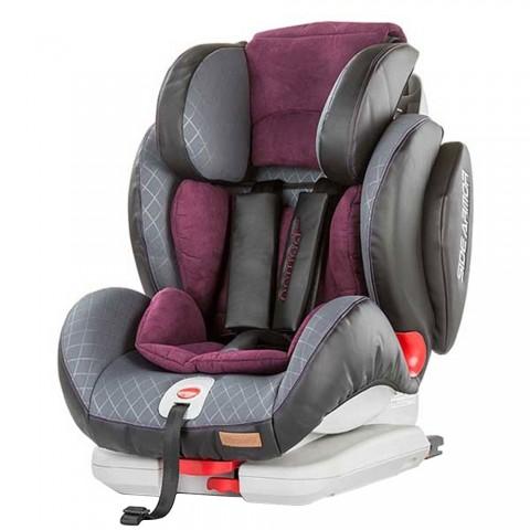 Scaun auto Chipolino Nomad 9-36 kg very berry cu sistem Isofix