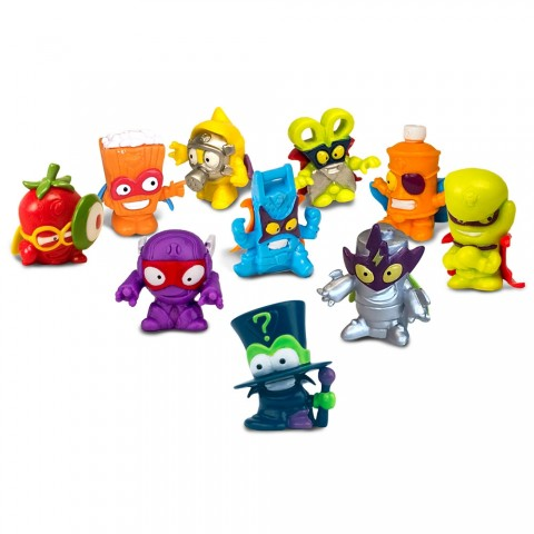 Set Magicbox Toys 10 figurine Super Zings Seria 1