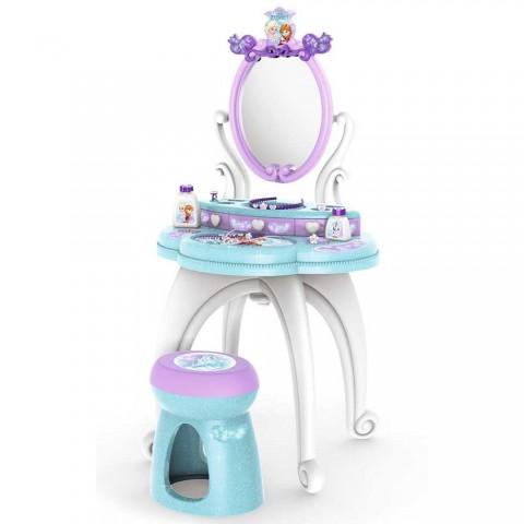 Jucarie Smoby Masuta de machiaj Frozen 2 in 1 cu accesorii