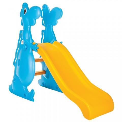 Tobogan Pilsan Dino Slide yellow blue