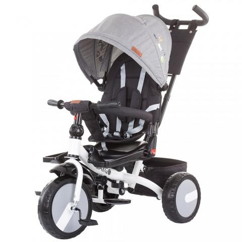 Tricicleta cu sezut reversibil Chipolino Largo asphalt