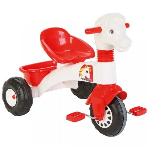 Tricicleta Pilsan Pony white