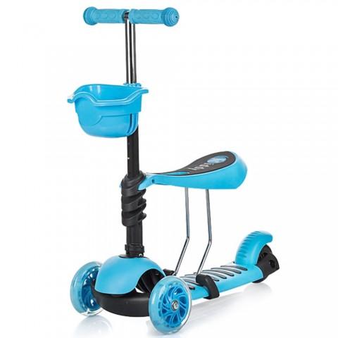 Trotineta Chipolino Kiddy blue