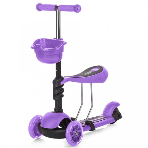 Trotineta Chipolino Kiddy purple