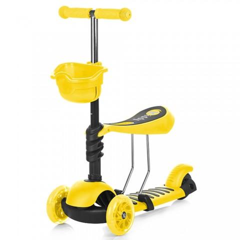 Trotineta Chipolino Kiddy yellow