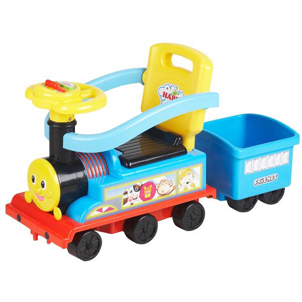 Masinuta Chipolino Train red-yellow