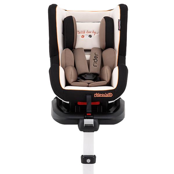 Scaun auto Chipolino Rider cu sistem ISOFIX 0-18 kg mocca