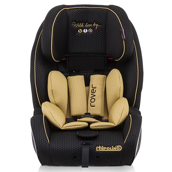 Scaun auto Chipolino Rover cu sistem ISOFIX 9-36 kg gold