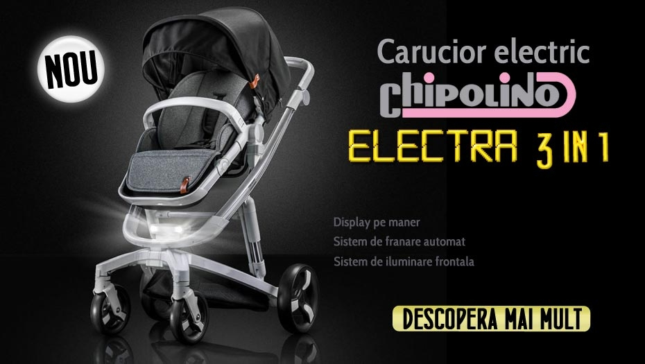 Carucior electric Chipolino Electra
