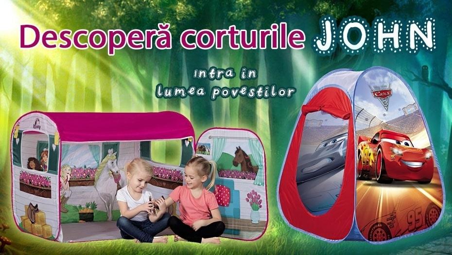 Corturi de joaca John pentru copii